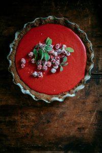 Cranberry Custard Pie Recipe