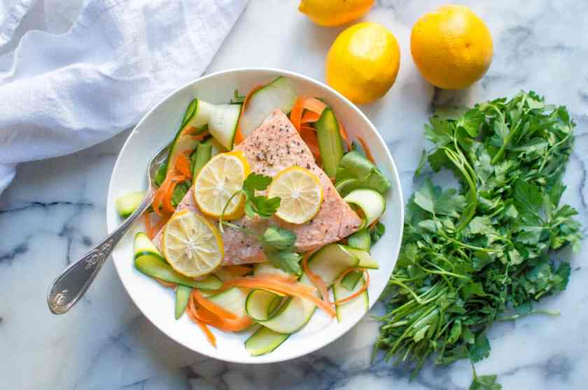 Instant Pot Lemon Garlic Salmon (from frozen!)