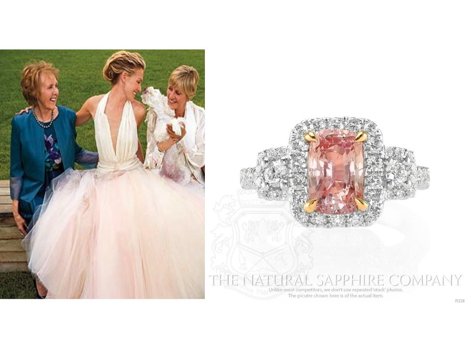 Pink Engagment Rings : Pretty In Pink Sapphires