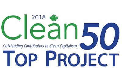 Energy Futures Lab named by Clean50 One of Canada's Top 20 Projects for 2018