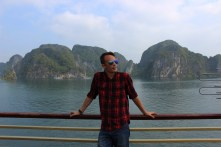 In Vietnam, I got the opportunity to check out the fascinating karst landscape of Ha Long Bay.