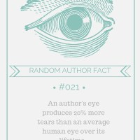 Random Author fact #021