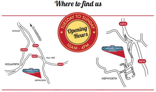 where to find us...