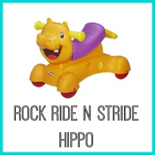 Rock Ride N Stride Hippo