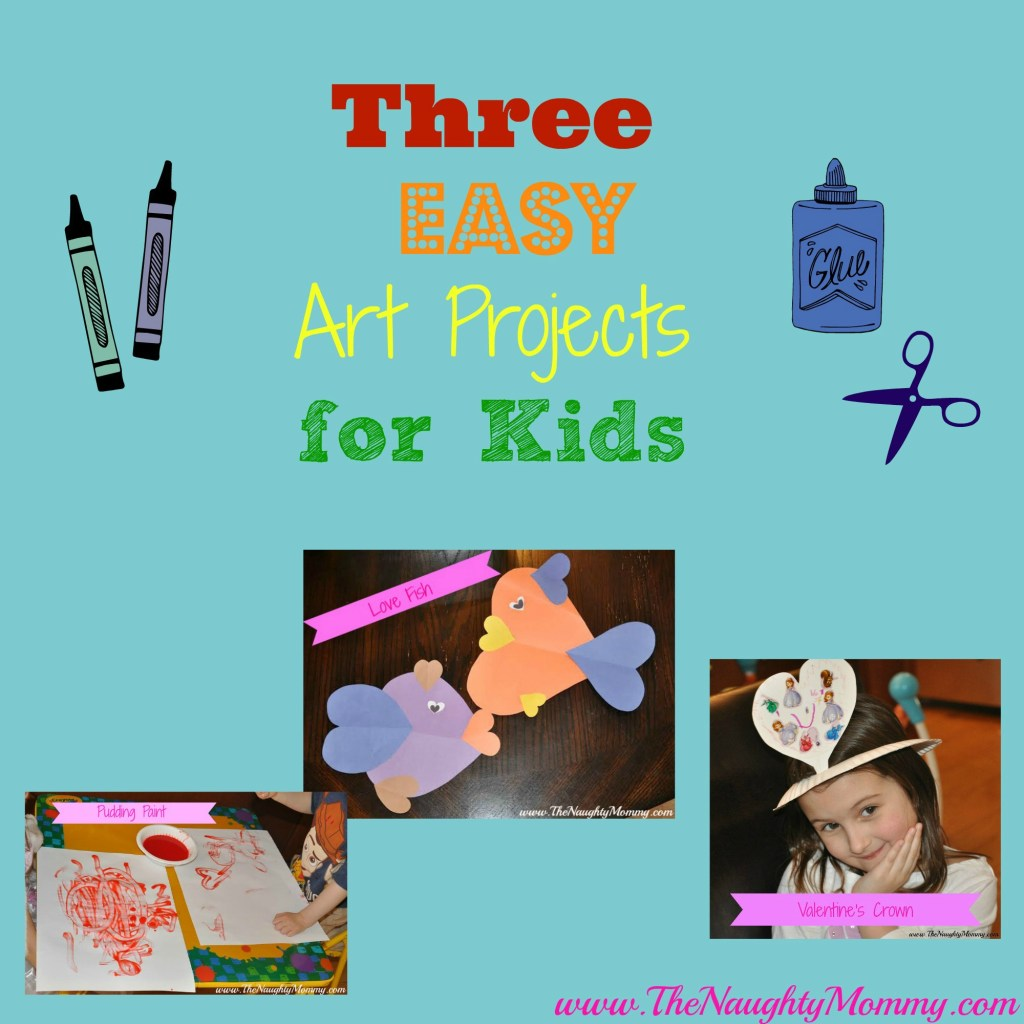 Three Easy Art Projects for Kids
