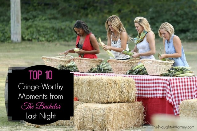 Top 10 Cringe-Worthy Moments from The Bachelor