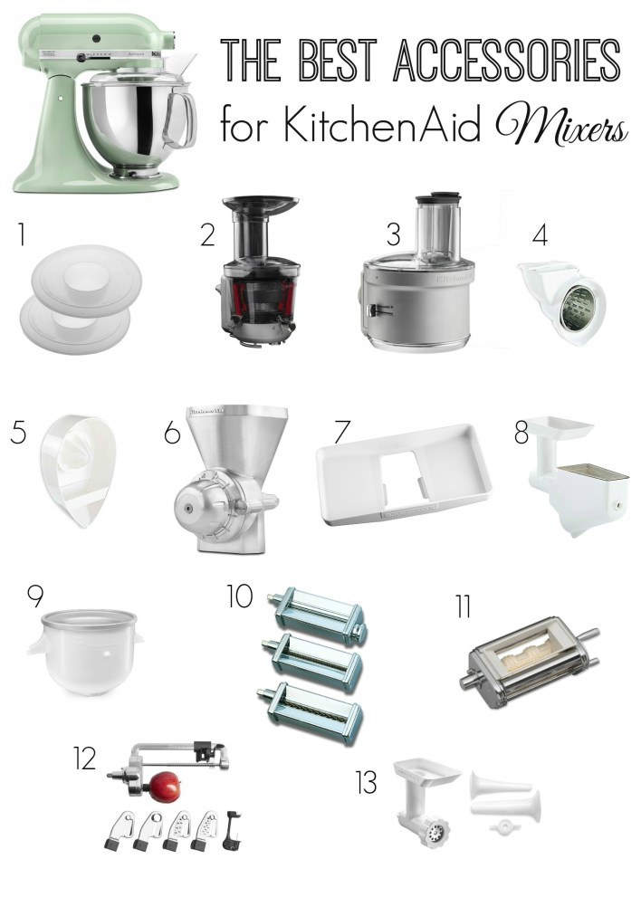 Best Accessories for KitchenAid Mixers