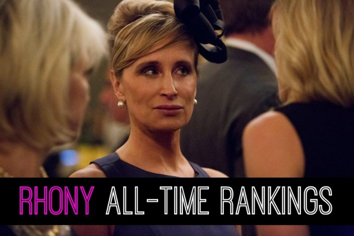 RHONY All Time Rankings