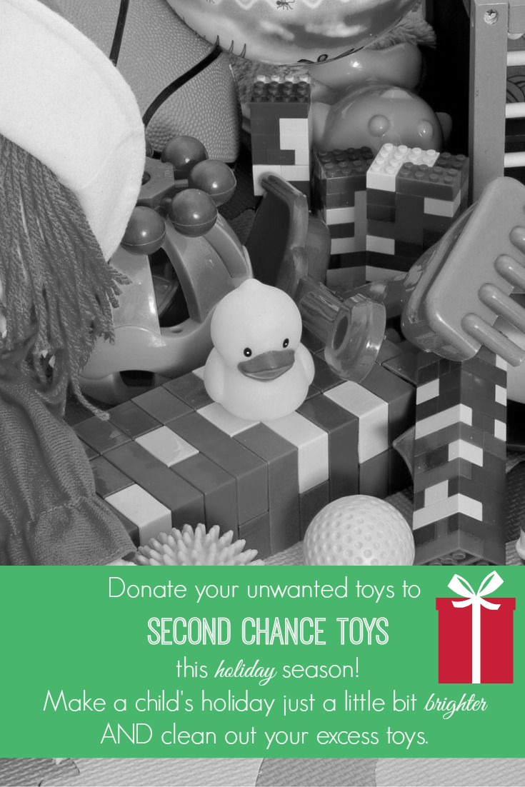 Give toys a second chance by donating to Second Chance Toys!