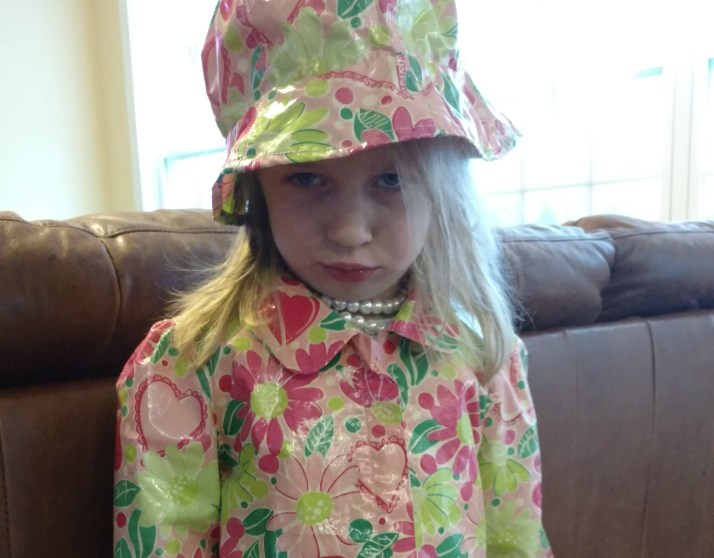 Lilly raincoat