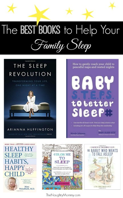 The Best Books to Help Your Family Sleep