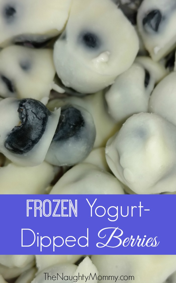 Frozen Yogurt-Dipped Berries