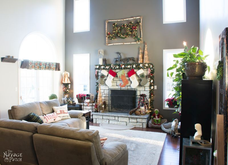 ... DIY Living Room Makeover | Living Room Phase 1 Reveal | Neutral Gray By  Behr ...