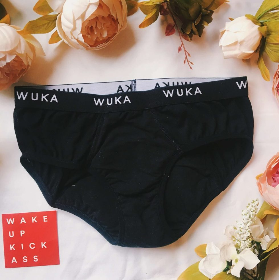 zero waste period pants, plastic free sanitary product, plastic free period