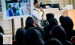 University Challenge Star Bobby Seagull Shares His Love Of Mathematics And Academics With Newham Collegiate Sixth Form Centre (The NCS) Students As Part Of Our Lecture Programme