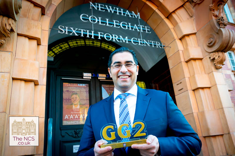 Newham Collegiate Sixth Form Centre Principal Honoured With Prestigious GG2 Award