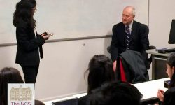 Newham Collegiate Sixth Form Centre (The NCS) Student's Experience Session With Harvard's Professor Michael Sandel