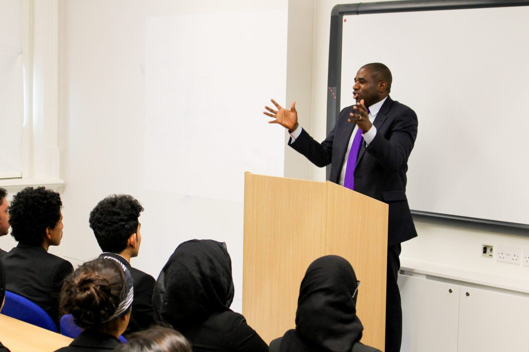 David Lammy MP Addresses Newham Collegiate Sixth Form (The NCS) Students – In Video