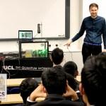 The UCL Quantum Workshop visits The NCS (video)