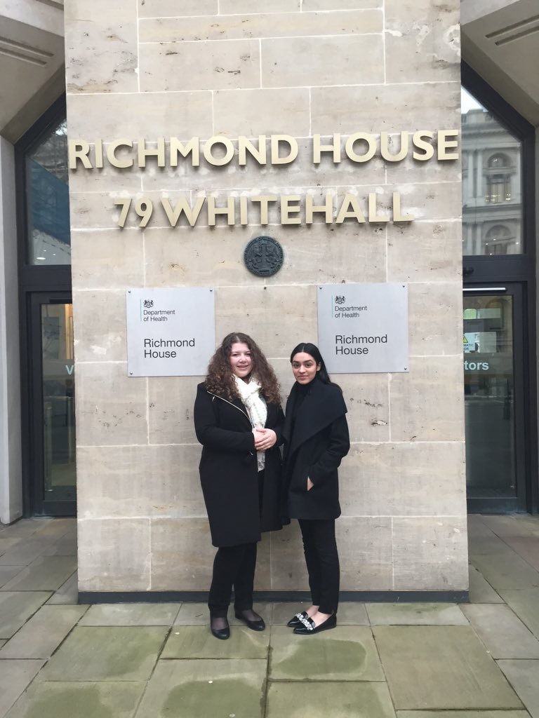Students Spend A Week Shadowing Policy Advisors At The Department of Health