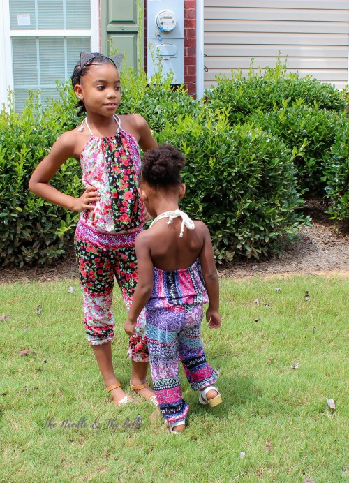 I tested the cutest romper for my girls by Rebecca Page. The Cerena Romper offers great pattern options and my toddler absolutely loves it!