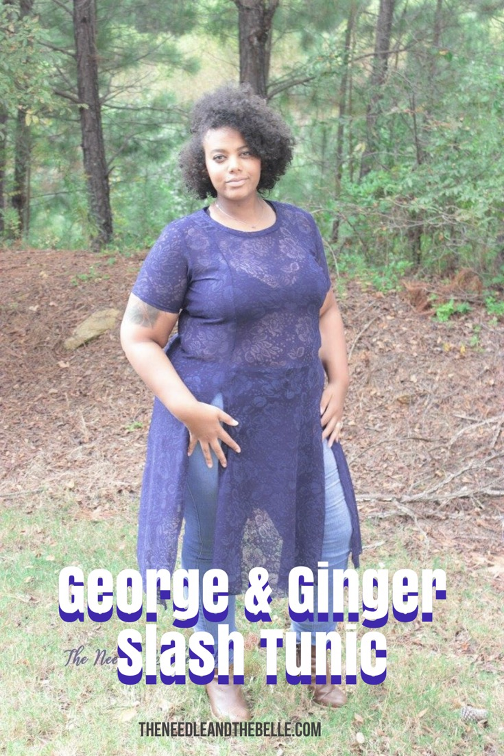 Ready to feel incredibly sexy? The Slash Tunic by George & Ginger will have you feeling like a fashion goddess with this amazing pattern!