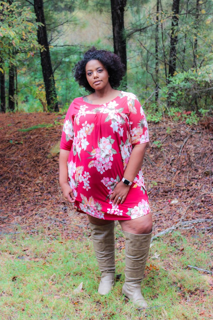 I was so excited to test this fall staple by Made for Mermaids. Their new pattern is the Catherine Dress, Top, and Tunic. We love it!
