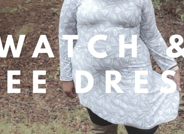 Watch And See Dress By Ellie & Mac