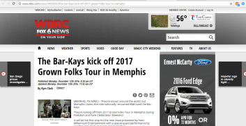 WBRC FOX 6 News (12/12/16)
