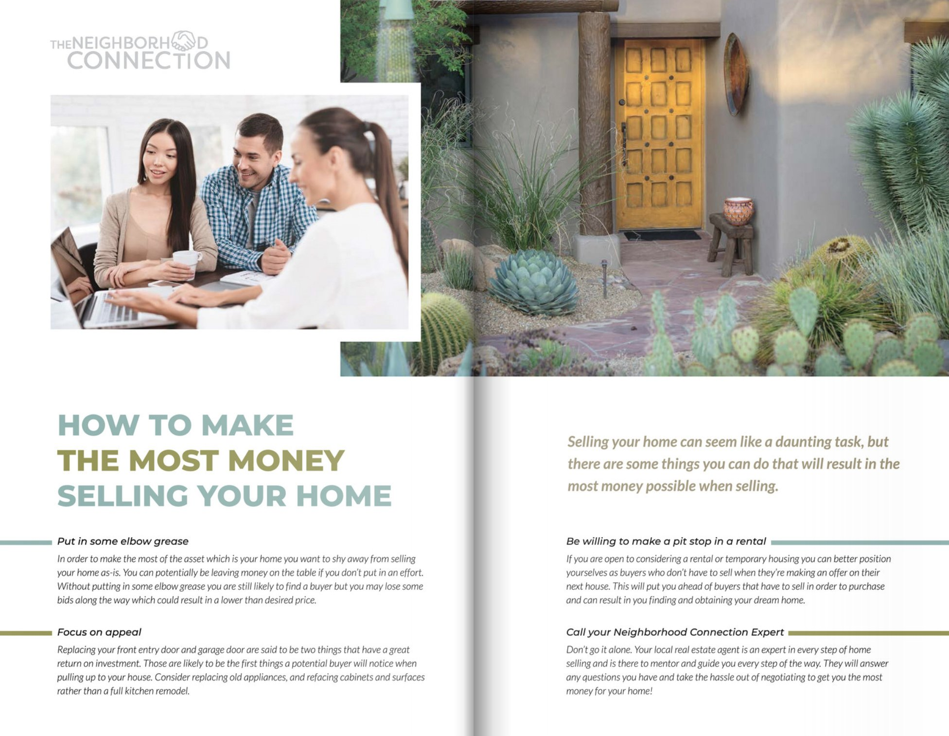Provide Real Estate Resources Amp Gain Prospect S Trust