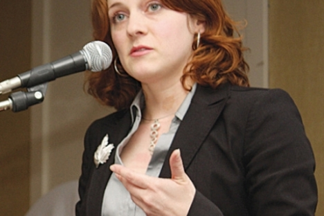 Michelle Mungall . . .how can cuts not impact students