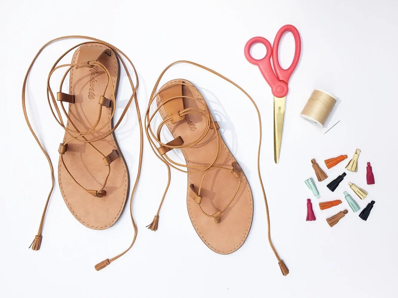 leather tassel wrap sandals 10.JPG