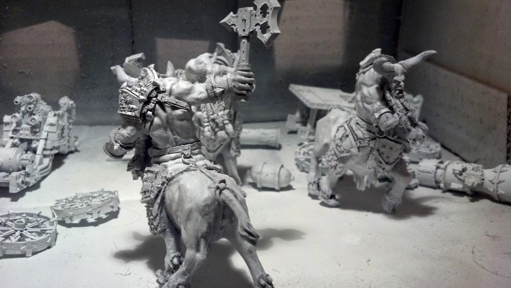 Bull Centaurs: WIP pt 1 (1/4)