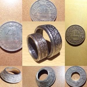 Non-American Coin Rings