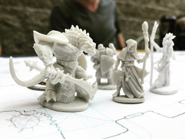 Dungeons and Dragons Figurines