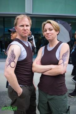 Battlestar Galactica (@suprdave89 and @lindrella)