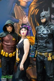Robin, Batman and Casual Catwoman