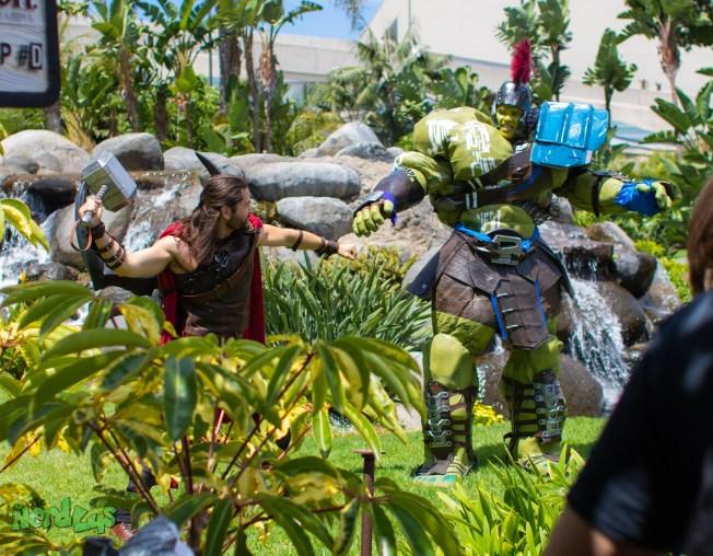 Thor vs Gladiator Hulk