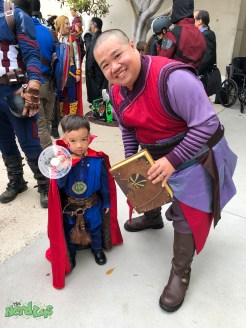 Lil Dr Strange and Wong