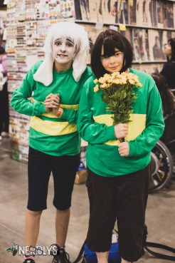 Asriel and Frisk Undertale