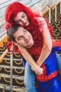 Mary Jane and Peter Parker by @cosplaybychloe and @ficus_fern