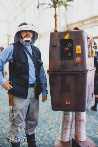 Rebel and Gonk Droid