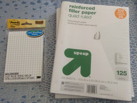 Graph Paper and Graph Paper Post-its