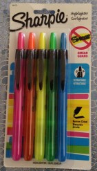 Sharpie Highlighter Retractable 5-Pack