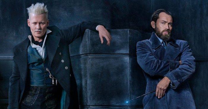 Animali Fantastici - Grindelwald e Jude Law