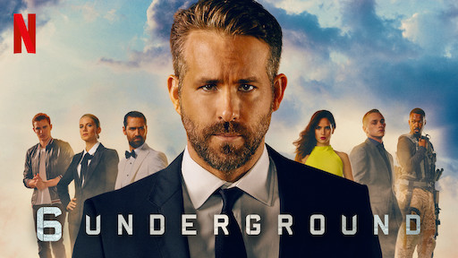 6 Underground: action movie a Firenze