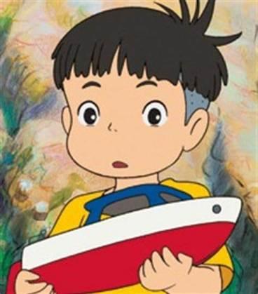 Sosuke _ Ponyo sulla scogliera