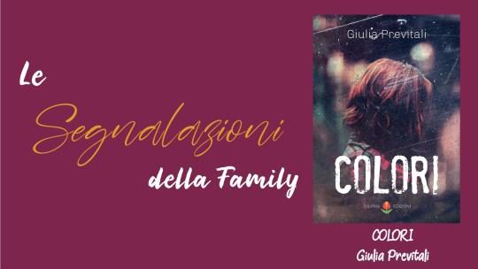 Colori – il nuovo libro introspettivo di Giulia Previtali