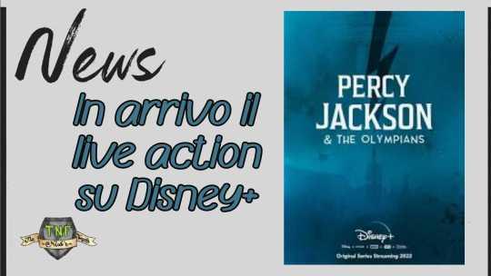 Percy Jackson arriva su Disney+ – un nuovo live action per la piattaforma