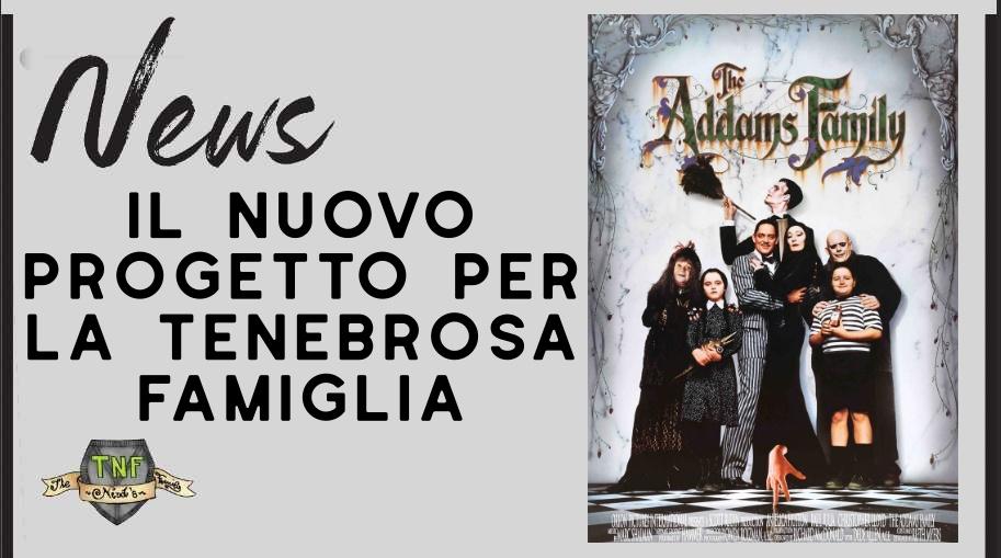 La Famiglia Addams – Tim Burton in trattativa per il reboot della serie